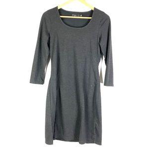 Prana Soskia Gray Wool Blend Dress